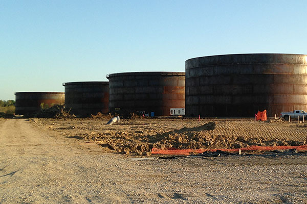 Pronghorn Terminal, 3x 110,000 bbl Storage Tanks, Pipelines, Truck Loading & Rail Unloading